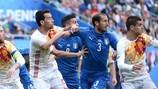 Italy and Spain last met at UEFA EURO 2016