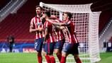 El Atlético estará en octavos de final si puntúa en Austria