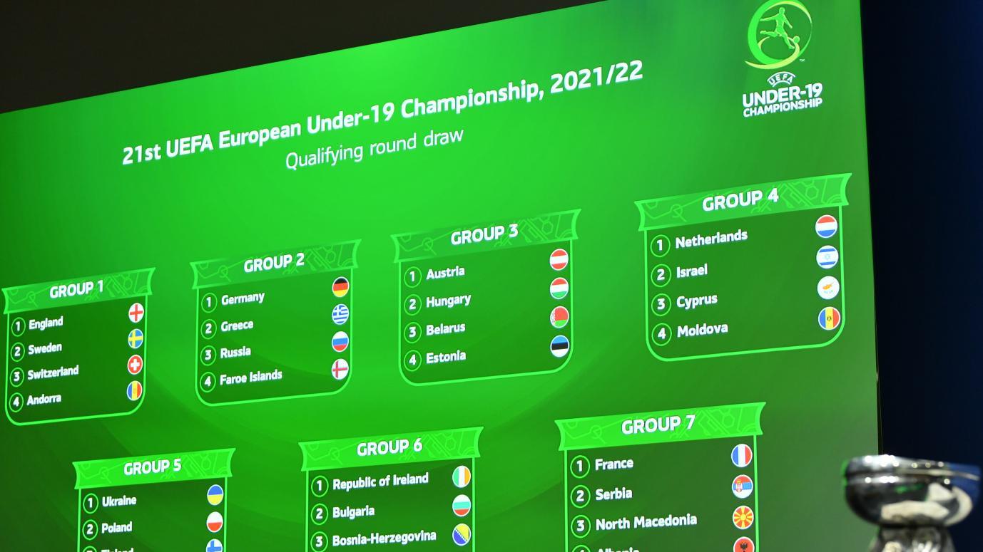 2021/22 Under-19 EURO qualifying round groups