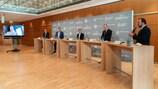 Leipziger Messe fue anunciada como la sede del IBC en una conferencia de prensa que tuvo lugar el martes