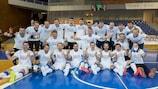 Чехия празднует выход на чемпионат мира