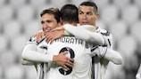 Álvaro Morata e Cristiano Ronaldo fixaram marcas pessoais na campanha da Juventus na fase de grupos