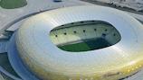 In der Arena Gdańsk findet 2021 das Endspiel der UEFA Europa League statt