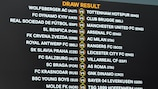 The full UEFA Europa League round of 32 draw