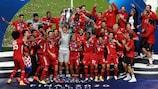 El Bayern, vigente campeón de la UEFA Champions League