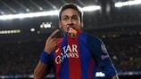 Neymar était joueur de Barcelone lors de la Remontada entrée dans la légende en 2017