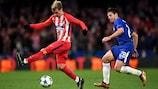 Atlético und Chelsea standen sich 2017/18 in der Gruppenphase gegenüber