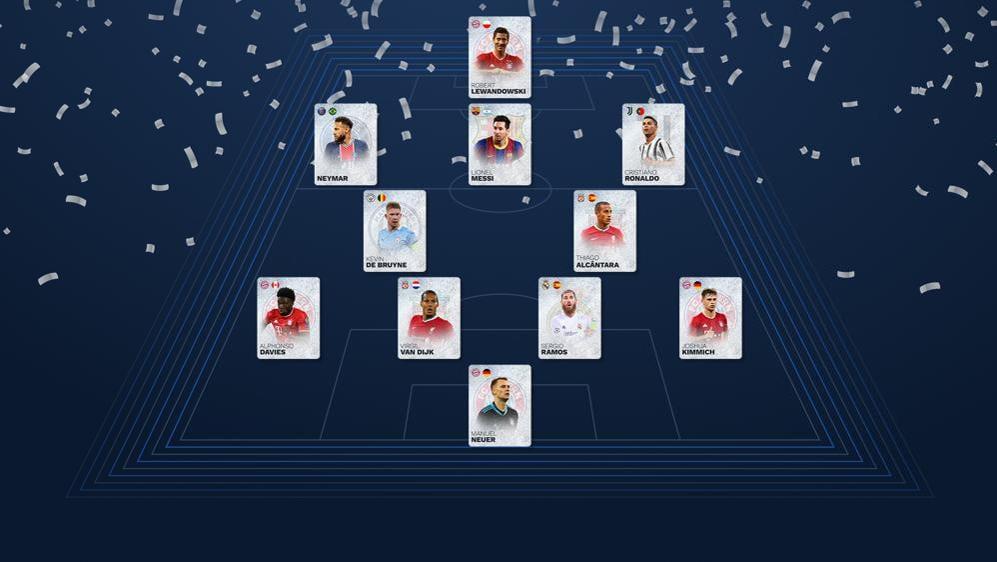 Estatísticas da Equipa do Ano Masculina