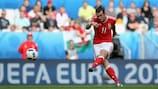 Golazo de falta de Bale en la  EURO 2016