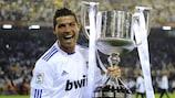 Cristiano Ronaldo, con el título de la edición 2011