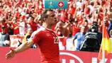 Xherdan Shaqiri scored a stunning goal against Poland in 2016