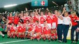 Denmark were shock EURO winners in 1992