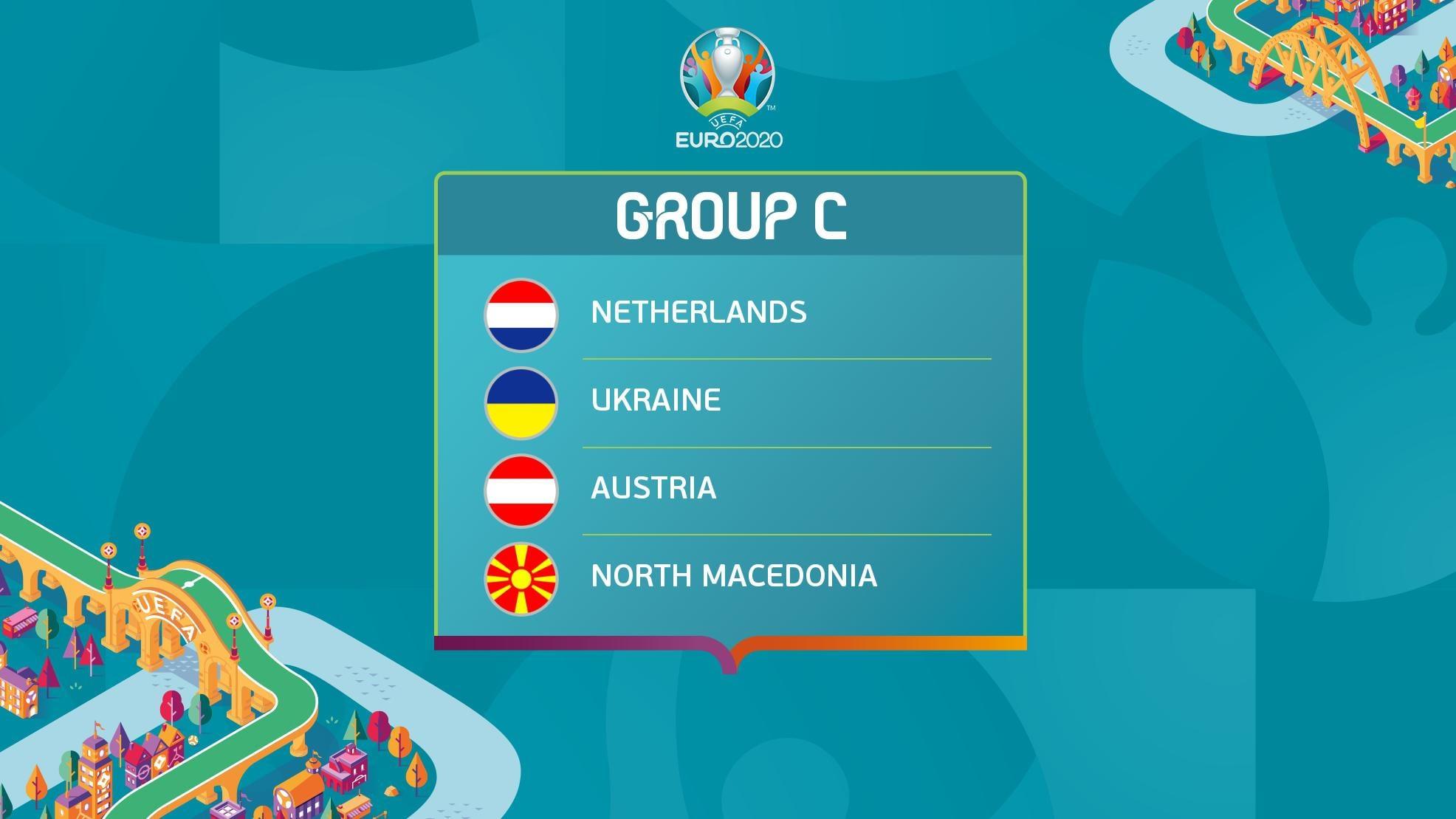 EURO 2020 - Group C Groupc