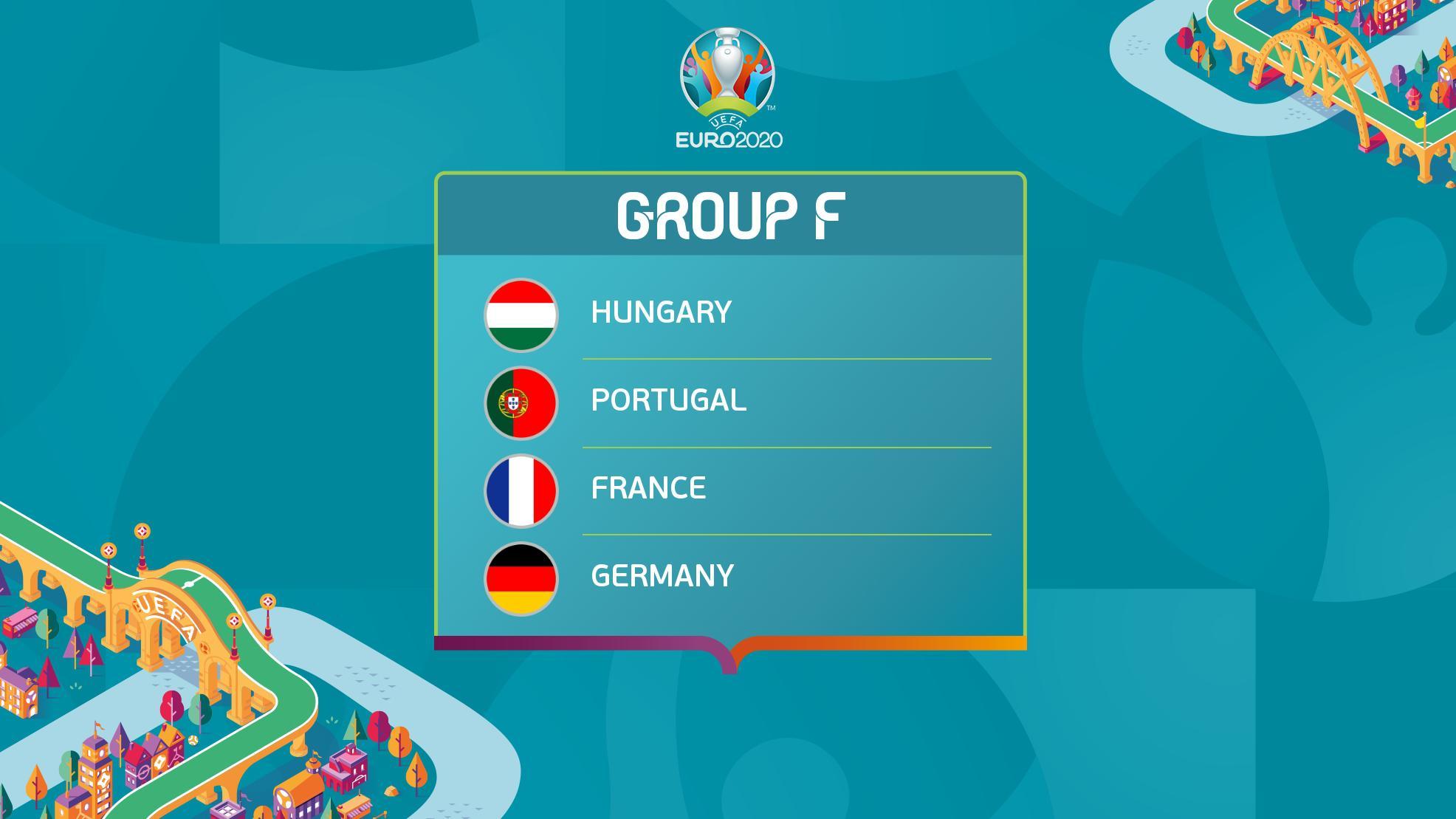 EURO 2020 - Group F Group_f