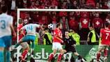 Арда Туран забивает швейцарцам на ЕВРО-2008