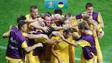 Andriy Shevchenko gave Ukraine a memorable start to UEFA EURO 2012