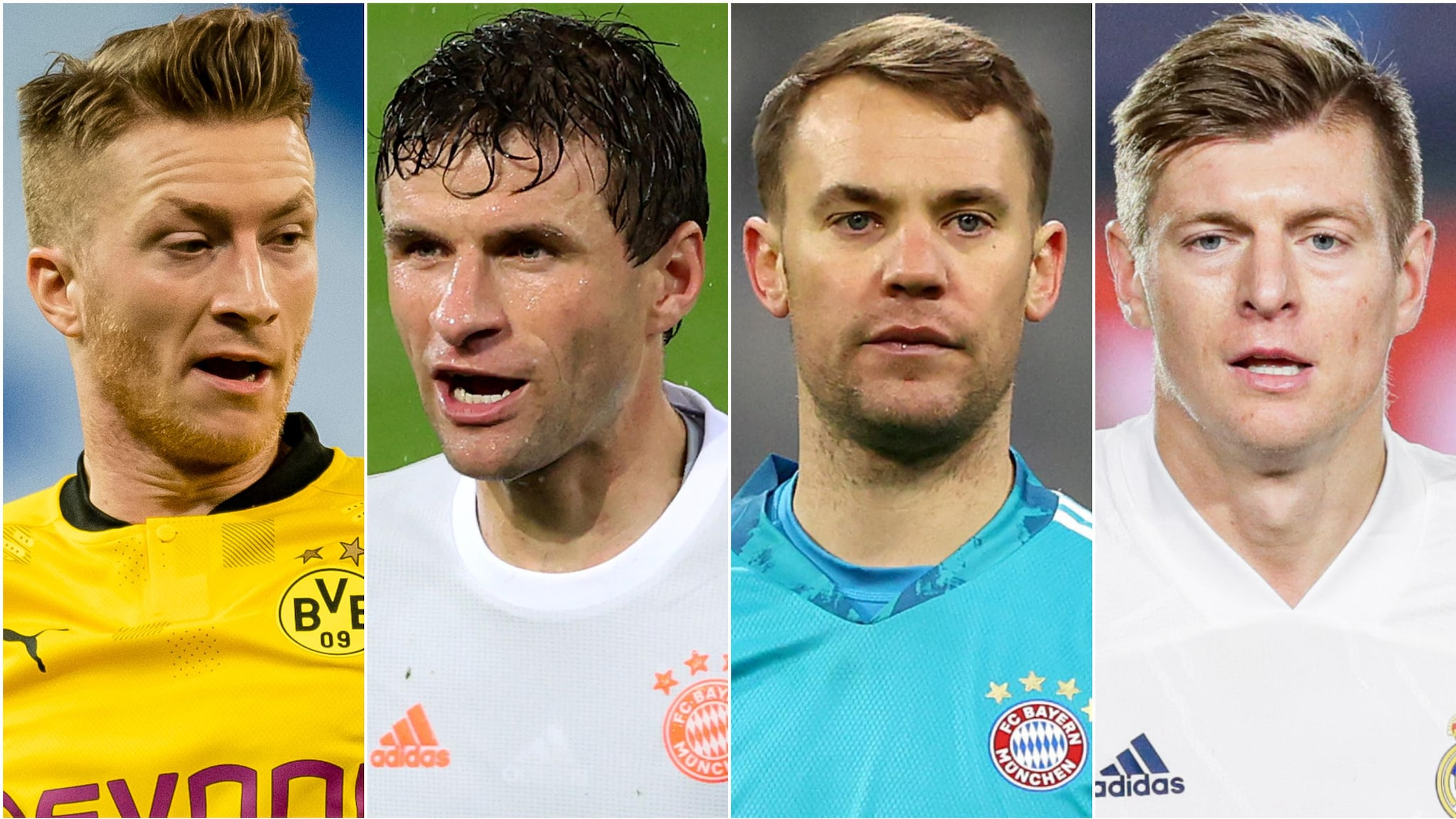 Germany's top performers