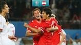 Ivica Vastić makes a breakthrough at EURO 2008