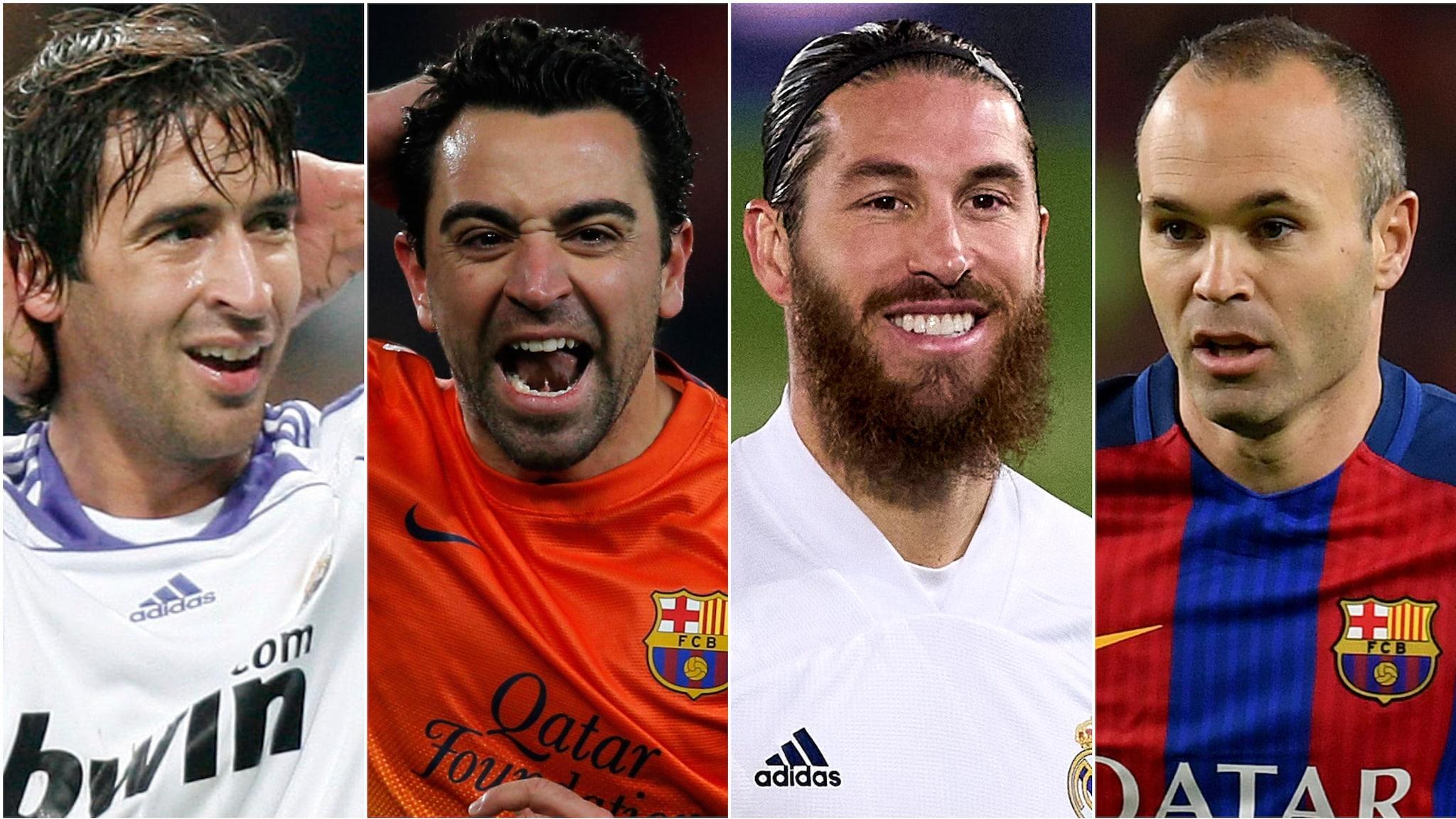 Os melhores jogadores da Espanha