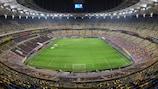 A Arena Naţională, em Bucareste