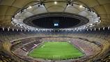 L'Arena Naţională à Bucarest