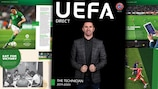 Robbie Keane appears on the front cover of The Technician's compilation