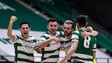 Sporting zog am Samstag in die Endrunde ein
