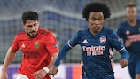 Benfica and Arsenal drew 1-1 in the opening leg