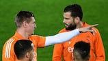 Toni Kroos and Nacho hope to feature for Madrid at Atalanta
