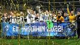 Finnland feiert die Qualifikation