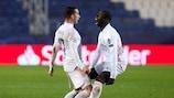 Mendy feiert sein spätes Siegtor für Real Madrid gegen Atalanta