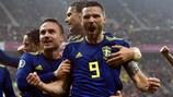 Watch all Sweden's EURO 2020 qualifying goals