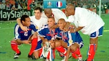 France last lifted the trophy in 2000