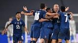 Il Porto festeggia la qualificazione ai quarti di finale