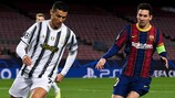 Cristiano Ronaldo and Lionel Messi met once again in the 2020/21 group stage