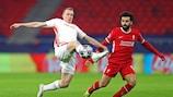 Mohamed Salah brachte Liverpool auf Kurs