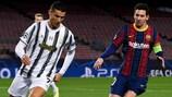 Ronaldo y Messi se volvieron a enfrentar en la fase de grupos 2020/21