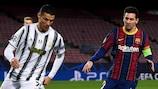 Роналду и Месси играли друг против друга в декабре 2020 года