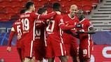 O Liverpool passou aos quartos-de-final