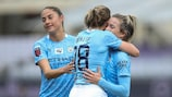 Manchester City eased through at Fiorentina