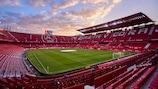 O Estadio Ramón Sánchez-Pizjuán, em Sevilha, é o palco da final