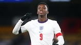 Qualifying top scorer Eddie Nketiah is among the England squad