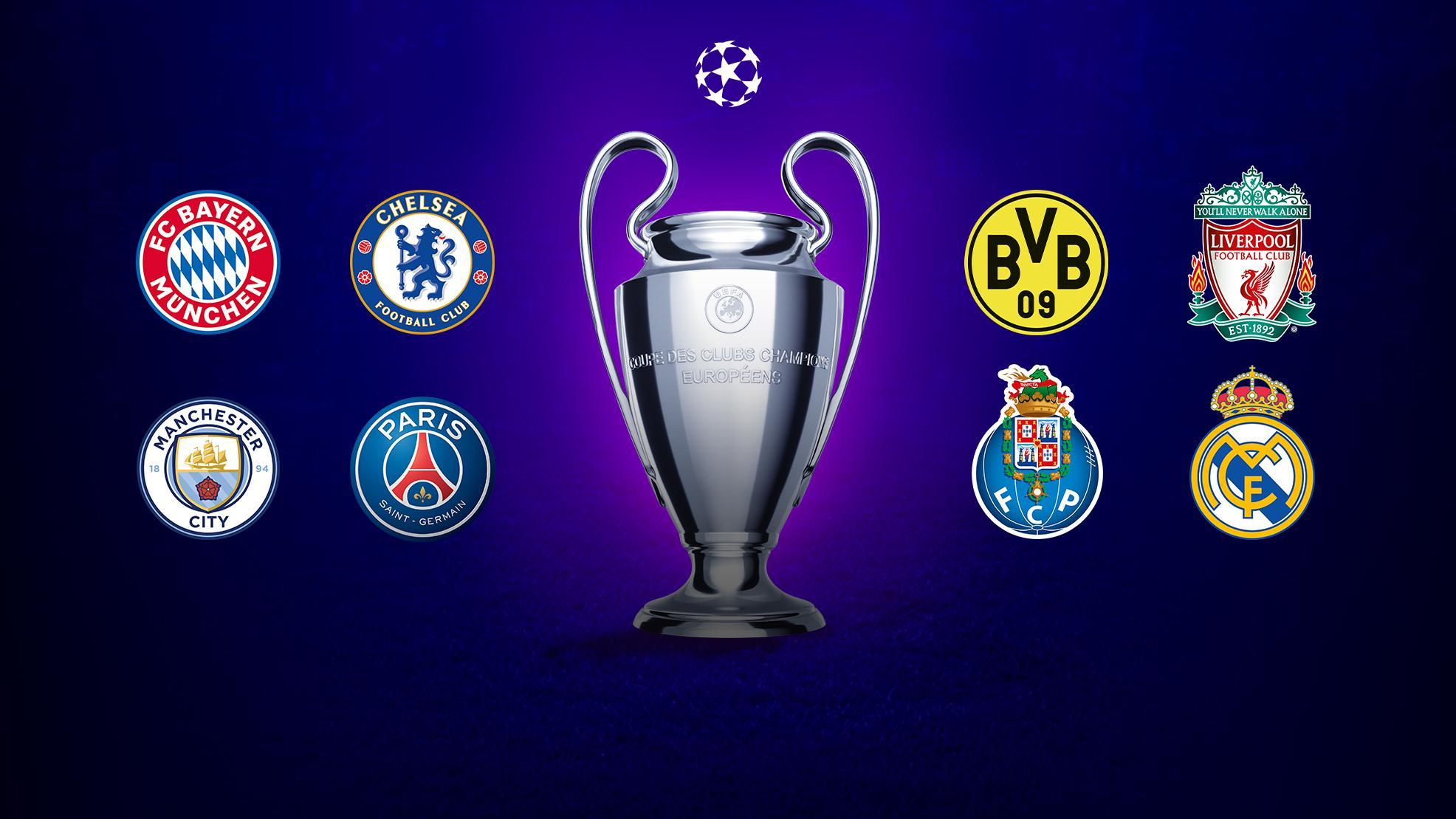 Cuartos De Final De La Champions Bayern Chelsea Dortmund Liverpool Man City Paris Oporto Real Madrid Uefa Champions League Uefa Com