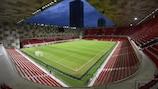 Das Endspiel steigt in der National Arena von Tirana