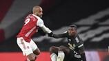 Arsenal und Manchester United können erst im Endspiel aufeinandertreffen