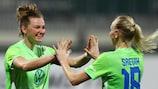 Wolfsburg steht im Viertelfinale