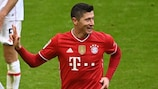 Robert Lewandowski's hat-trick against Stuttgart on 20 March made him the first non-German to 35 goals in a Bundesliga season