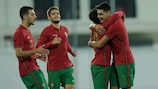 Portugal festeja um golo na fase de qualificação