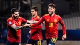 Hoogtepunten: Slovenië 0-3 Spanje (2 minuten)