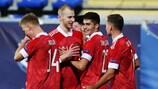 Сборная России удачно стартовала на молодежном ЕВРО